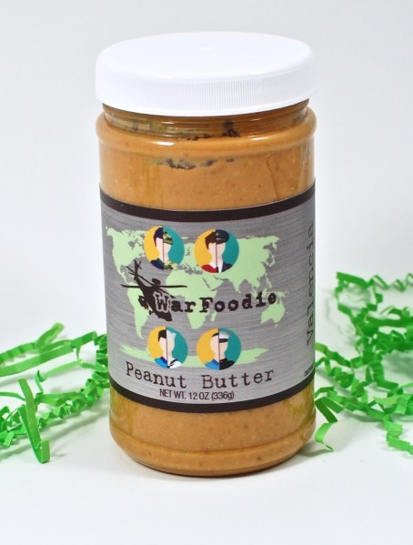 War Foodie peanut butter