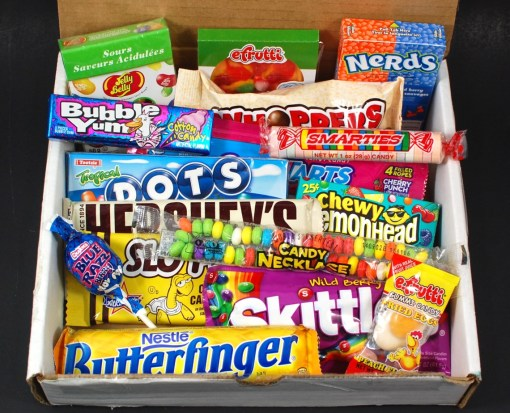 October 2015 Candy Box review