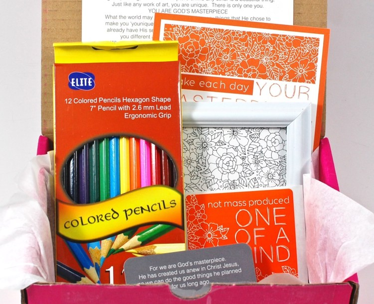 Loved + Blessed November 2015 Box of Encouragement Review