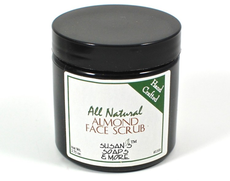 almond face scrub