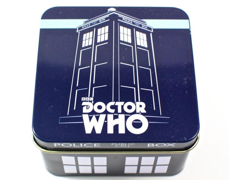 Doctor Who tin