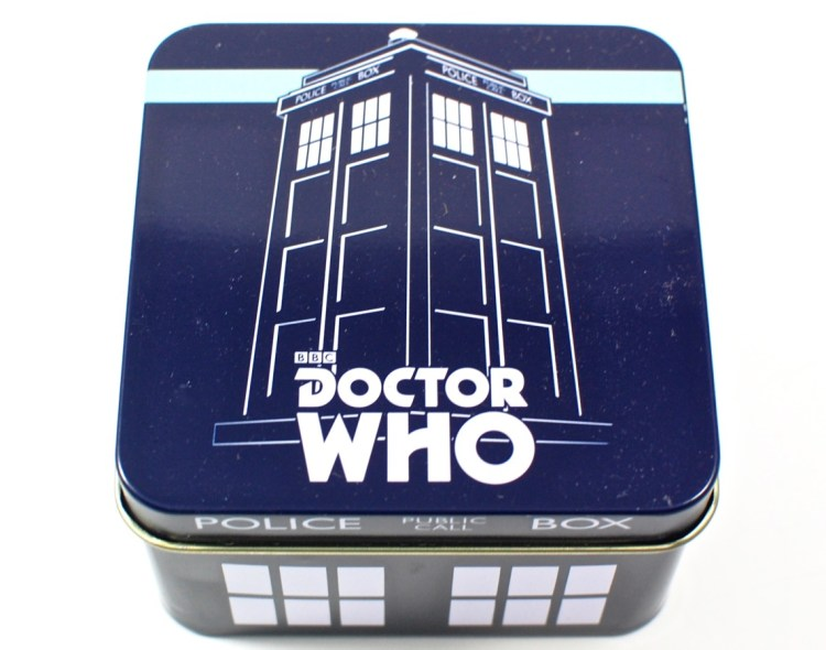 Doctor Who tin