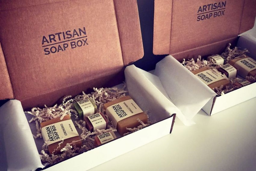 Artisan Soap Box