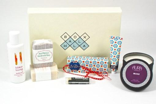 December 2015 Boxwalla Beauty Box