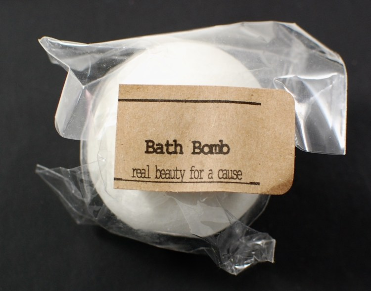 Real Beauty for a Cause bath bomb