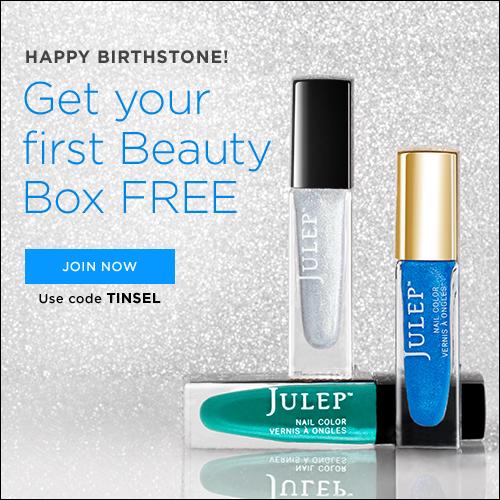 Free Julep Welcome Box