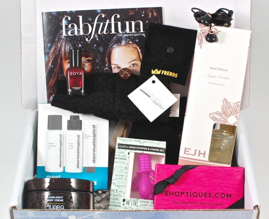 Winter 2015 FabFitFun review