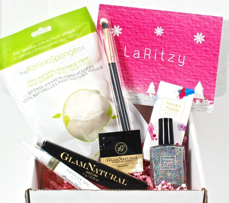 LaRitzy December 2015 Vegan Beauty Box Review & Coupon Code
