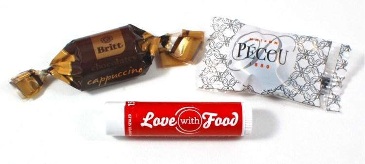 love with food lip balm