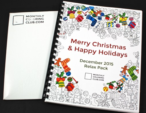 December 2015 Monthly Coloring Club review