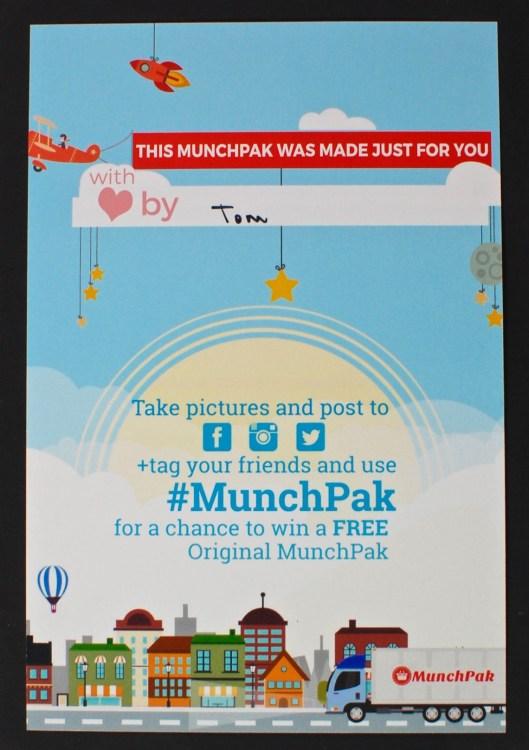 Munchpak info card