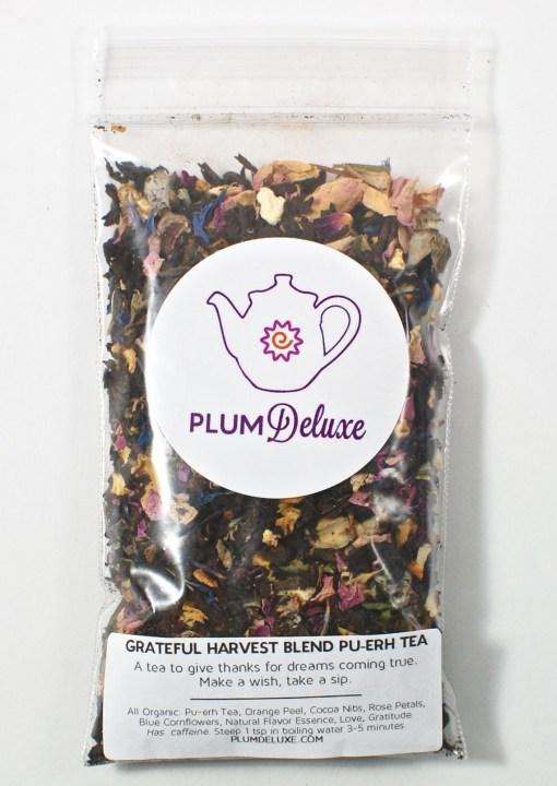 Grateful harvest tea