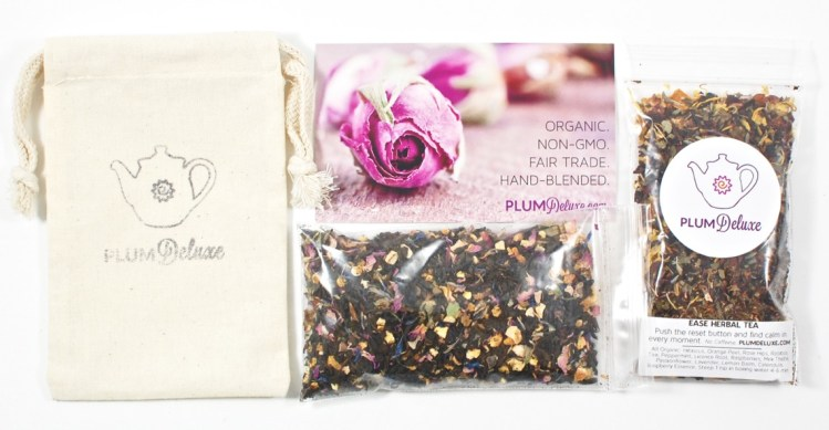 Plum Deluxe November 2015 Tea Subscription Review