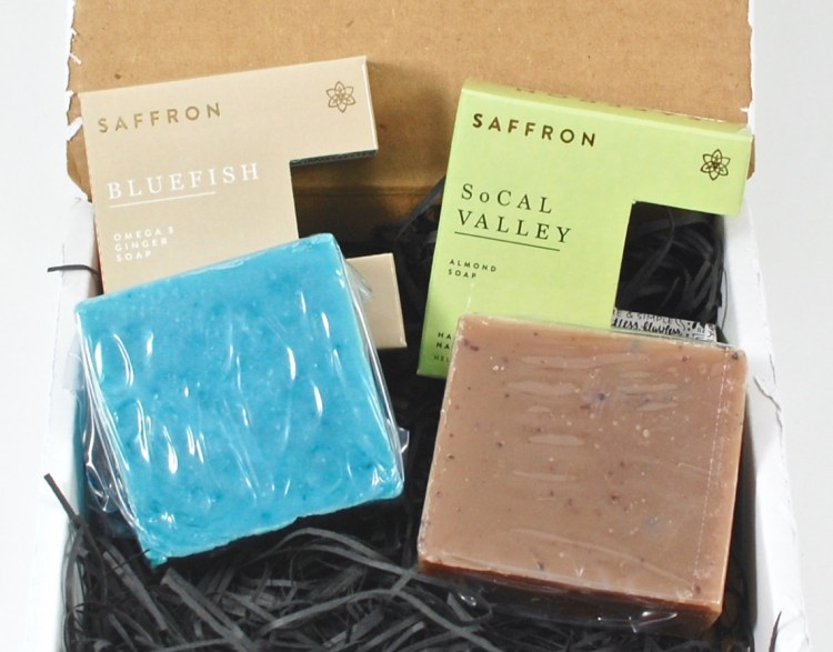 Saffron December 2015 Soap Box Review & Coupon Code