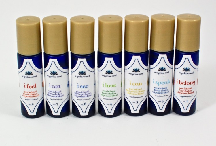 chakra oil blends