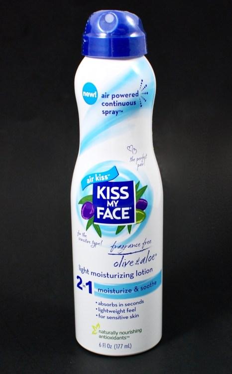 Kiss my Face moisturizing spray