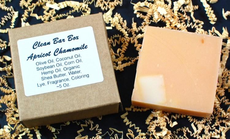apricot chamomile soap