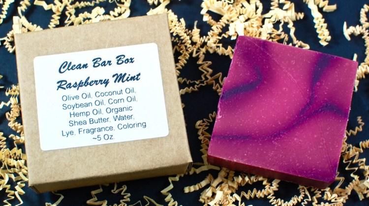 raspberry mint soap