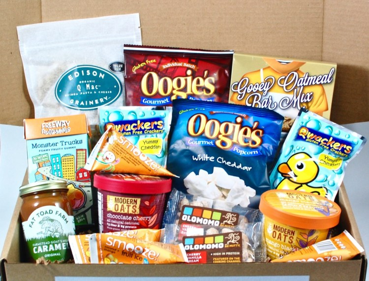 Crafted Gluten Free January 2016 Kids Box Review