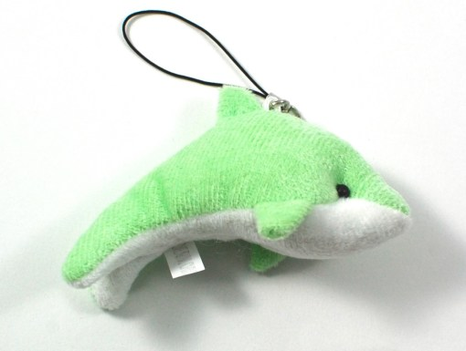 Dolphin cell phone charm