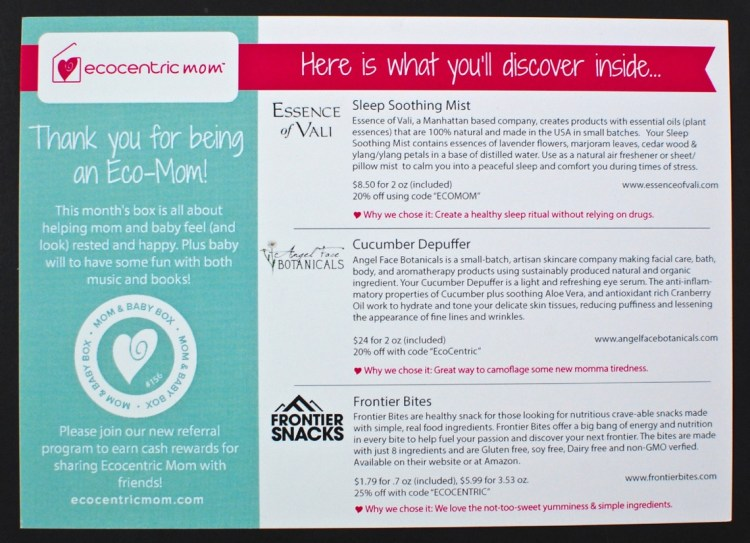 Ecocentric Mom November/December review