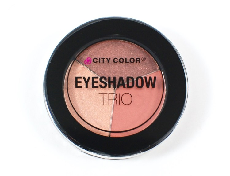 City Color eyeshadow trio
