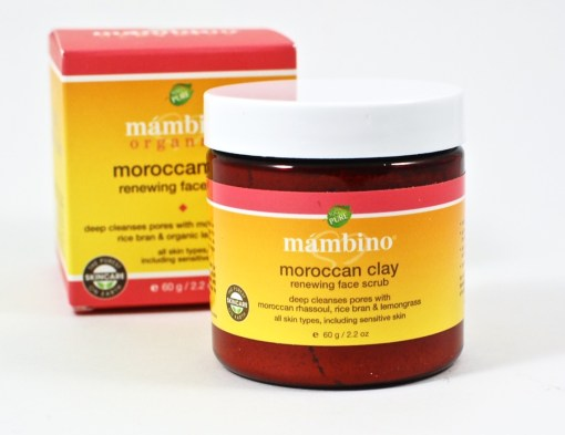Mambino Moroccan clay scrub
