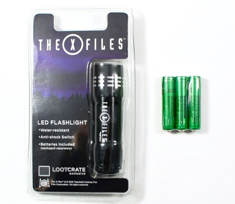 X-Files flashlight