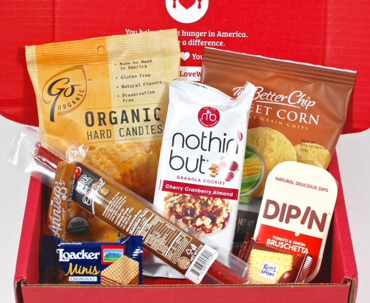 Love With Food January 2016 Review & First Box Only $5.99 Shipped