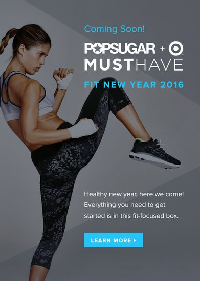 POPSUGAR + Target Fit New Year 2016 Box Coming 1/5/16!
