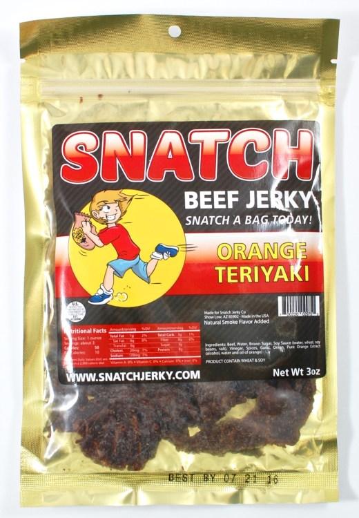 teriyaki jerky