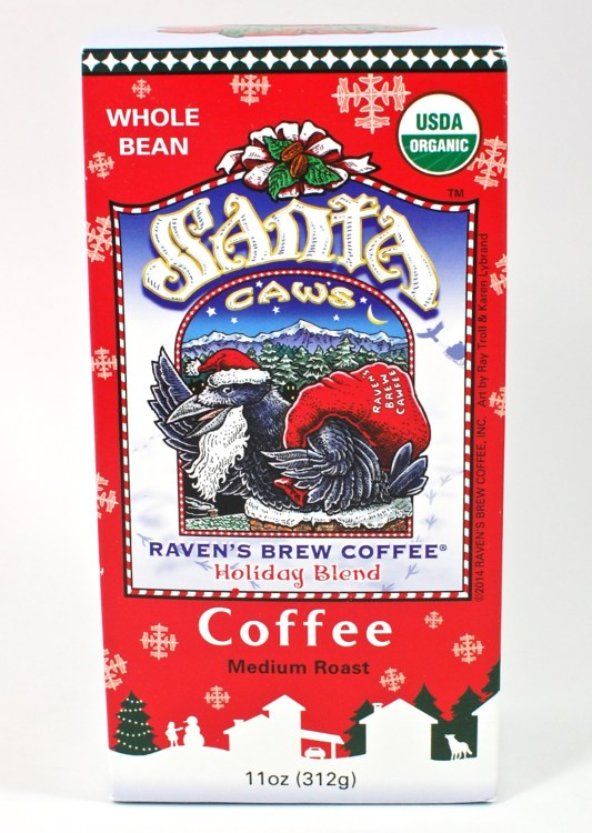 Santa Caws coffee