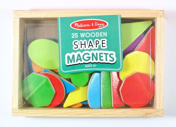 melissa & doug shape magnets