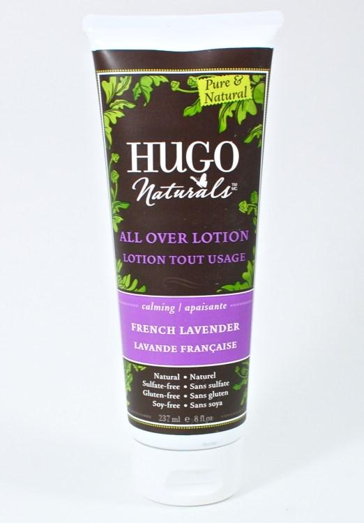 hugo naturals lotion