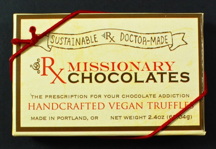 missionary chocolates
