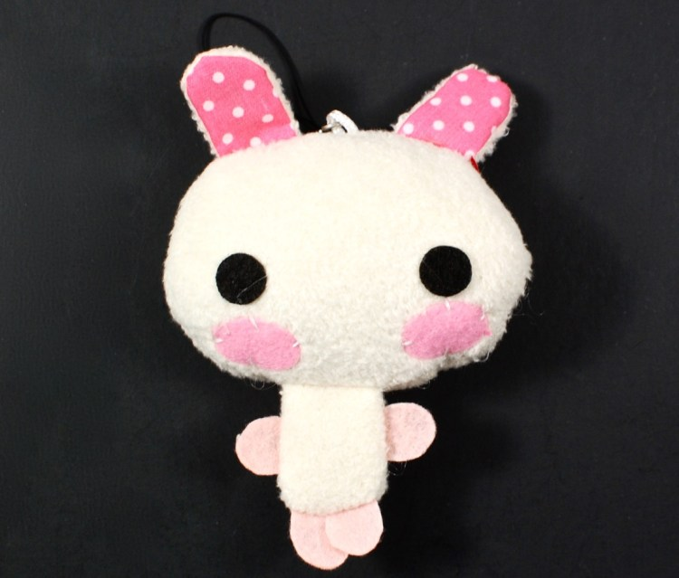 bunny hanging plush