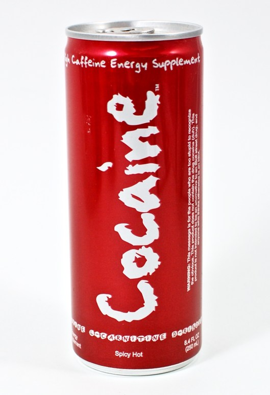 cocaine energy drink
