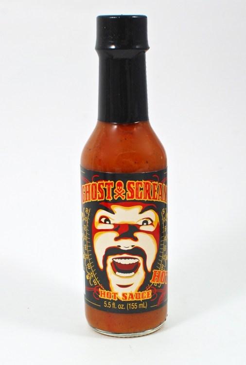 Ghost Scream hot sauce