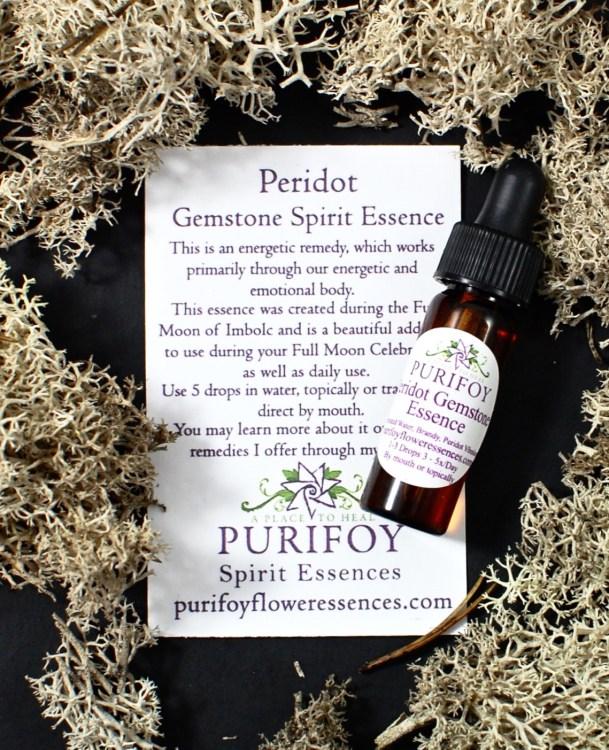 peridot essence