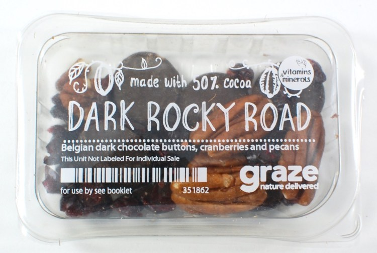 Graze dark rocky road