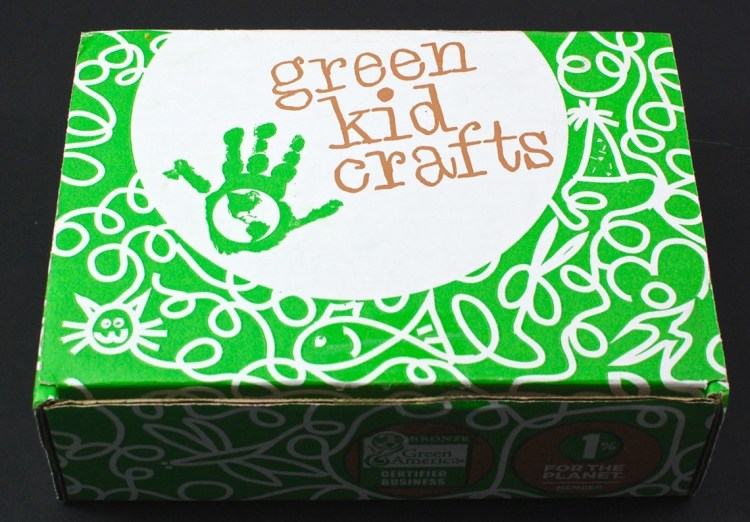 Green Kid Crafts box