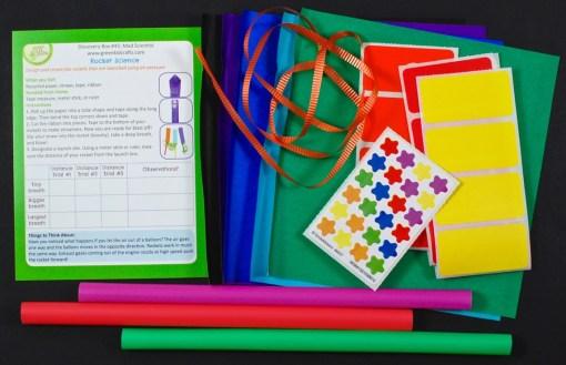 Green Kid Crafts rocket science