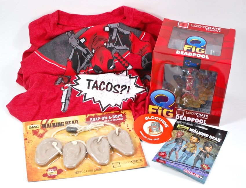 February 2016 Loot Crate review