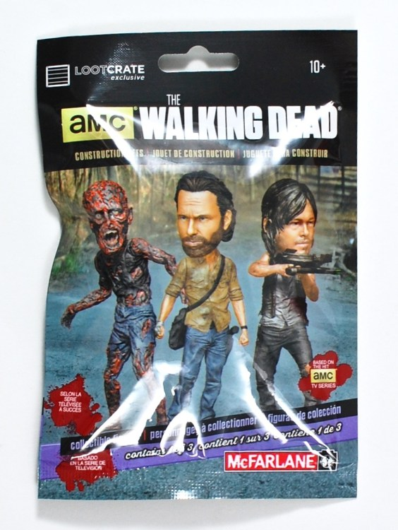 Loot Crate Walking Dead figure