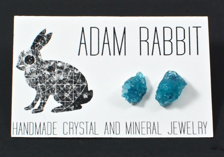 adam rabbit earrings