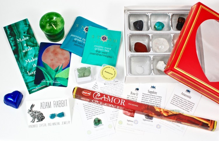 Sapphire Soul February 2016 Mindful & Mystic Box Review & Coupon Code