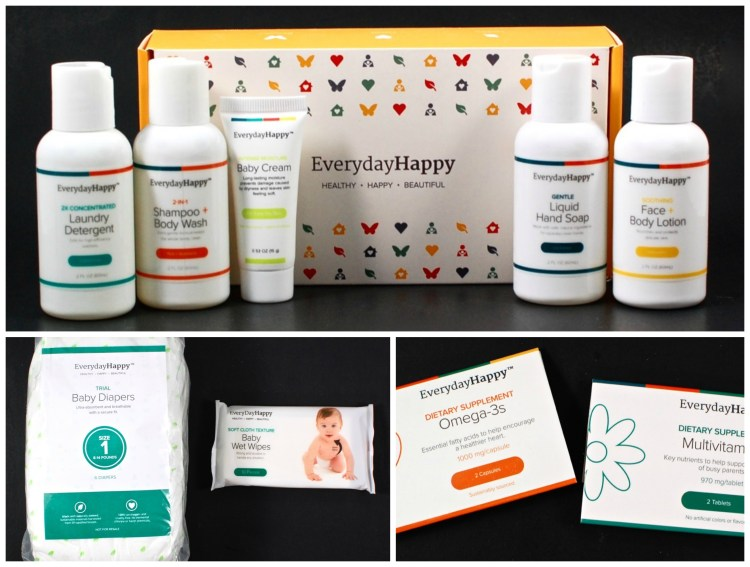 EverydayHappy Review of All 3 FREE Trial Kits