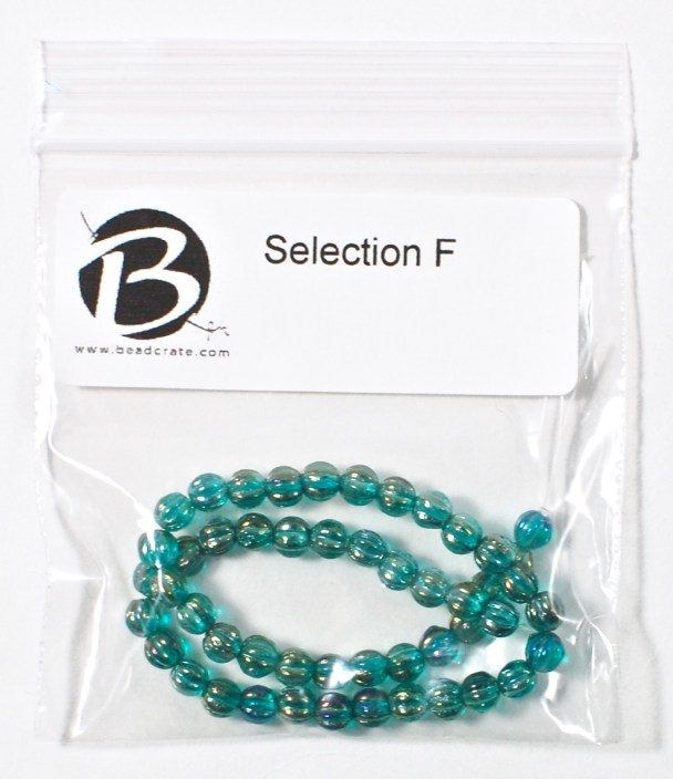 blue melons beads