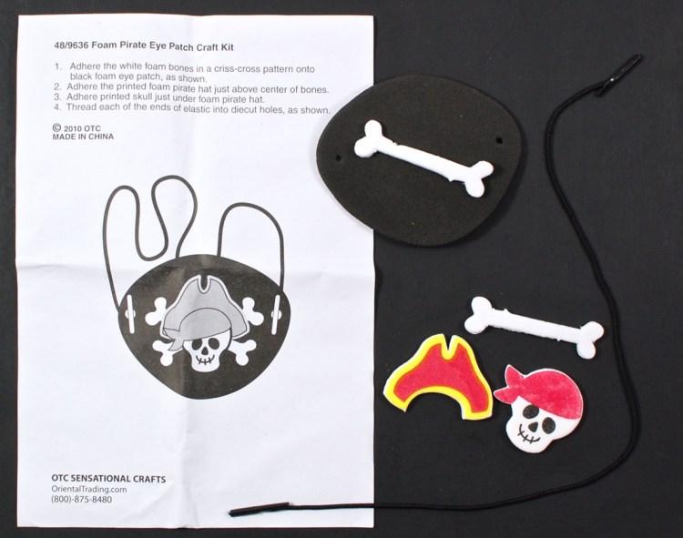 pirates patch craft