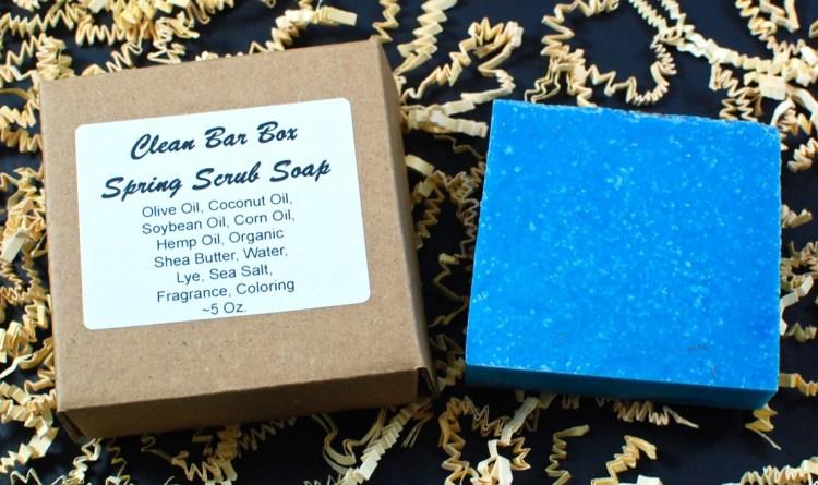 Spring Scrub soap